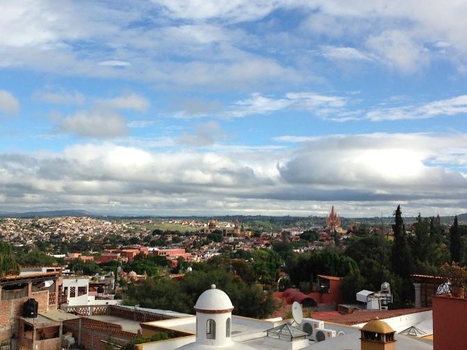 San Miguel de Allende Rooftop View