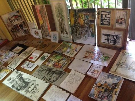 Urban Sketchers Penang